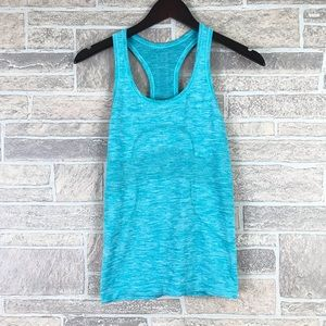 Lululemon Blue Swiftly Tank Top 4